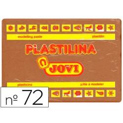 Plastilina jovi 72 marron -unidad -tamaño grande.