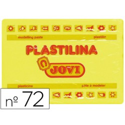Plastilina jovi 72 amarillo claro -unidad -tamaño grande