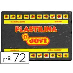 Plastilina jovi 72 negro -unidad -tamaño grande