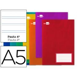 Libreta liderpapel smart a5 32 hojas 60g/m2cuadro pauta...