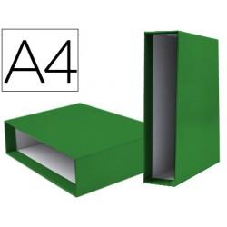 Caja archivador liderpapel de palanca carton din-a4...