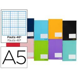 Libreta liderpapel smart a5 32 hojas 60 g/m2 rayado nº 46...