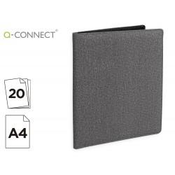 Carpeta portafolios q-connect a4 con calculadora bloc 20...