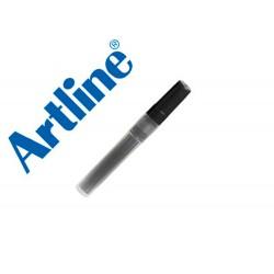 Recambio rotulador artline clix permanente ek-73 negro
