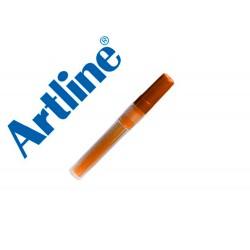 Recambio rotulador artline ek-63r clix fluorescente naranja