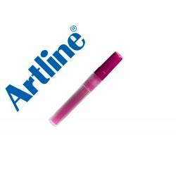 Recambio rotulador artline ek-63r clix fluorescente rosa