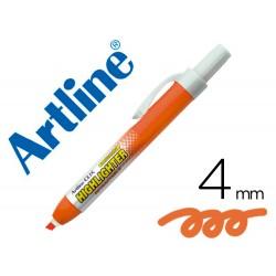 Rotulador artline clix fluorescente ek-63 naranja punta...