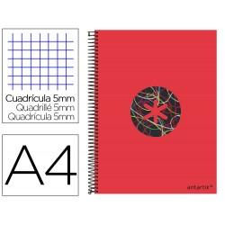 Cuaderno espiral liderpapel a4 micro antartik tapa...
