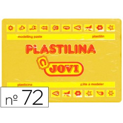 Plastilina jovi 72 amarillo oscuro -unidad -tamaño grande