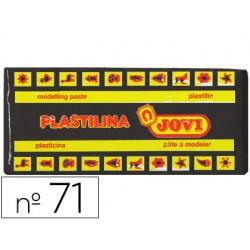 Plastilina jovi 71 negro -unidad -tamaño mediano