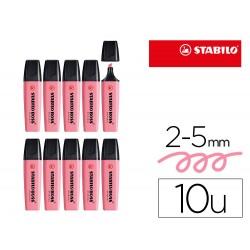 Rotulador stabilo boss fluorescente 70 pastel rosa cerezo...