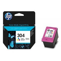 INK-JET HP N.304 DESKJET 3000 / 3720 / 3730 TRICOLOR 100...