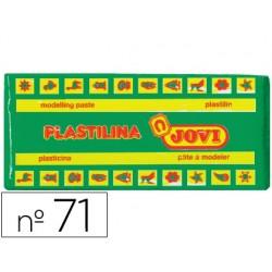 Plastilina jovi 71 verde claro -unidad -tamaño mediano.