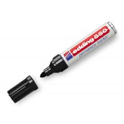 Rotulador edding punta fibra permanente 550 negro n.1...