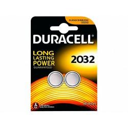Pila duracell alcalina boton cr2032 blister 2 unidades