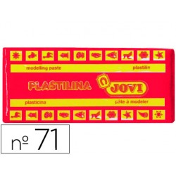 Plastilina jovi 71 rubi -unidad -tamaño mediano