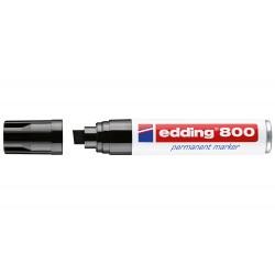 Rotulador edding marcador permanente 800 negro -punta...