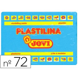 Plastilina jovi 72 azul claro -unidad -tamaño grande