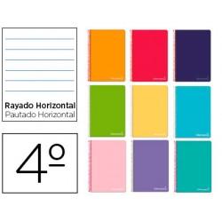 Cuaderno espiral liderpapel cuarto witty tapa dura 80h...