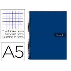 Cuaderno espiral liderpapel a5 micro crafty tapa forrada...