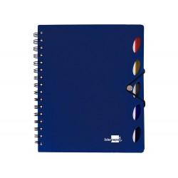 Cuaderno espiral liderpapel a5 micro executive tapa...