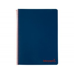 Cuaderno espiral liderpapel a5 micro wonder tapa plastico...
