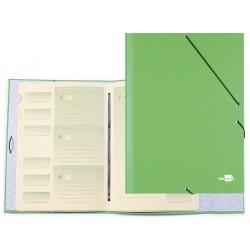 Carpeta clasificadora liderpapel 12 departamentos folio...