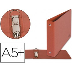 Carpeta de 2 anillas 40mm redondas liderpapel cuarto...