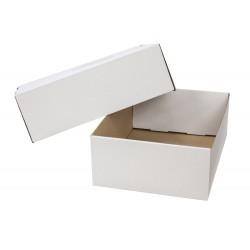 Caja para embalar q-connect blanca regulable en altura...