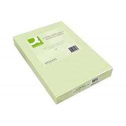 Papel color q-connect din a3 80 gr verde paquete de 500...