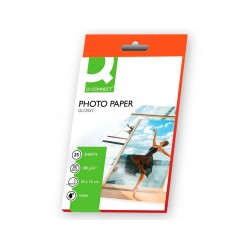 Papel q-connect foto glossy -kf01905 -10x15 -digital...