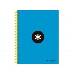Cuaderno espiral liderpapel a5 micro antartik tapa...