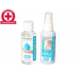 Gel hidroalcoholico antiseptico bacterigel g3 spray...