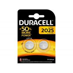 ila duracell alcalina boton cr2025 blister 2 unidades