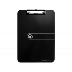 Portanotas herlitz con pinza din a4 negro,225x315mm,...