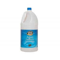 Agua destilada vivochef garrafa 5l