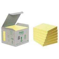 Bloc de notas adhesivas quita y pon recicladas en torre...