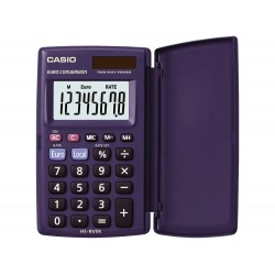 Calculadora casio hs-8ver bolsillo 8 digitos conversion...