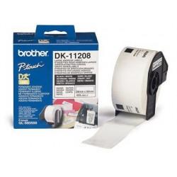 Etiqueta adhesiva brother dk11208 -tamaño 38x90 mm para...