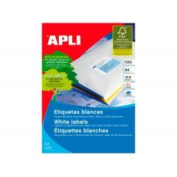 Etiquetas adhesivas apli 01282 tamaño 48,5x16,9 mm para...
