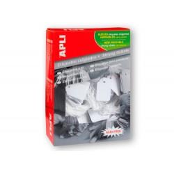 Etiquetas colgantes apli 396 50x70 mm caja de 400 unidades