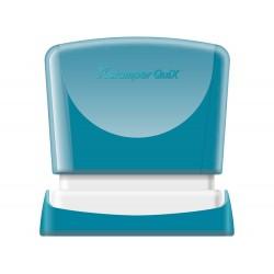 Sello x'stamper quix personalizable color azul medidas...