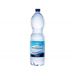 Agua mineral natural fuente primavera botella de 1,5l.