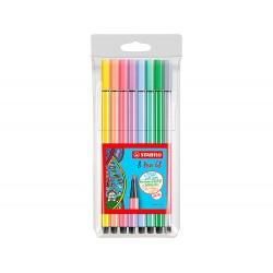 Rotulador stabilo acuarelable pen 68 estuche de 8 colores...