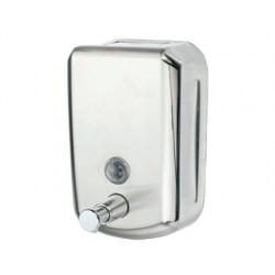 Dispensador manual q-connect de jabon 800 ml acero...