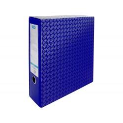 Caja archivador de palanca carton forrado elba folio lomo...