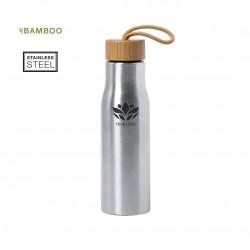 BIDÓN DROPUN Acero y Bambu