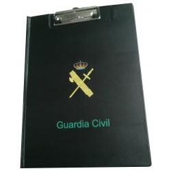 Carpeta Clasor PVC con clip con escudo Guardia Civil