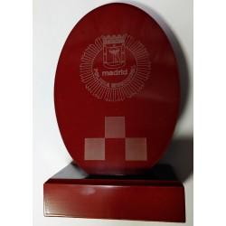 Metopa Cuña Ovalo Policía Municipal de Madrid