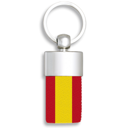 Llavero Metalico bandera de España